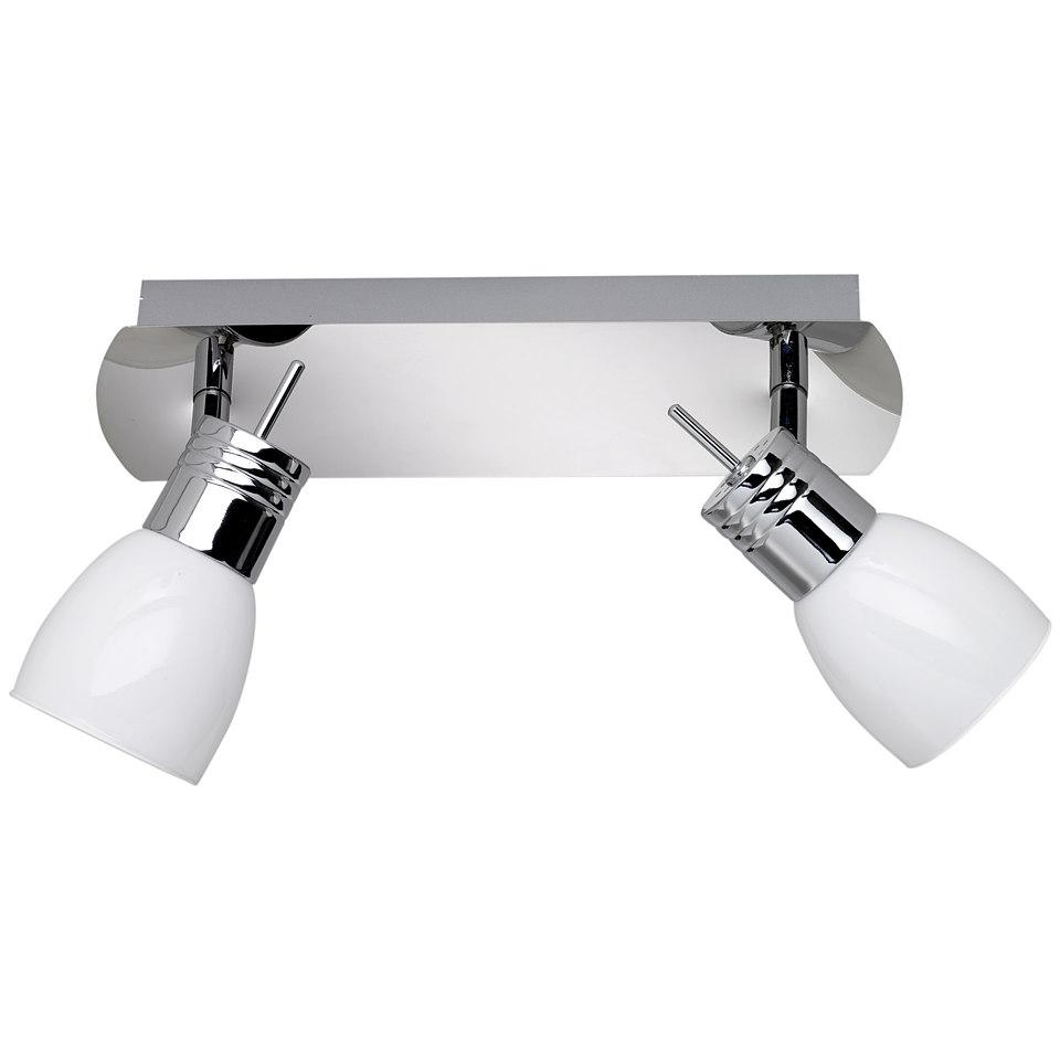 LED-Deckenleuchte, 2-flammig, Trio