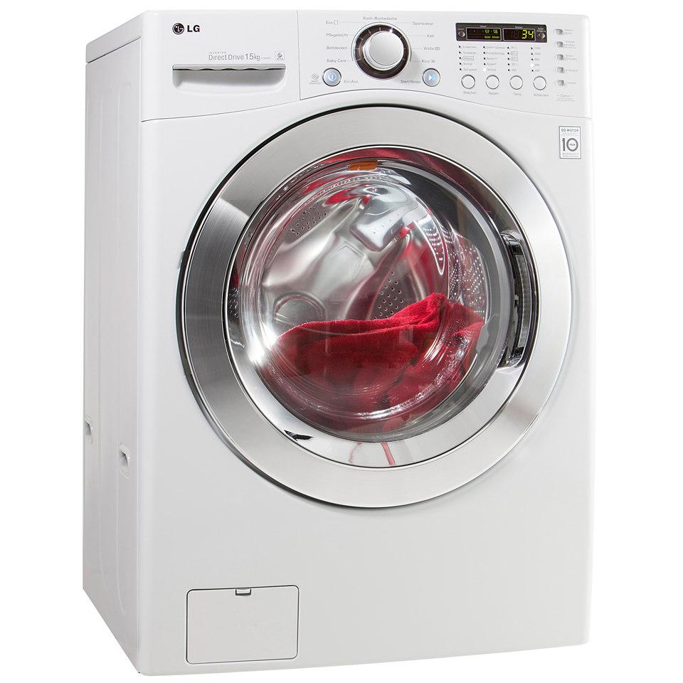 LG Waschmaschine F1255FD, A++, 15 kg, 1200 U/Min