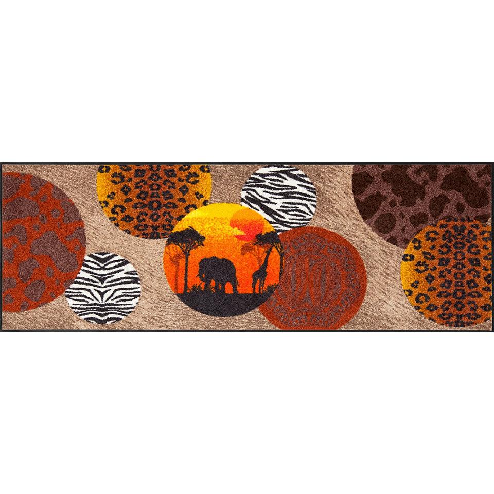 L�ufer, Salonloewe, �Afrika�, Waschbar, In- und Outdoor mit rutschhemmender Beschichtung