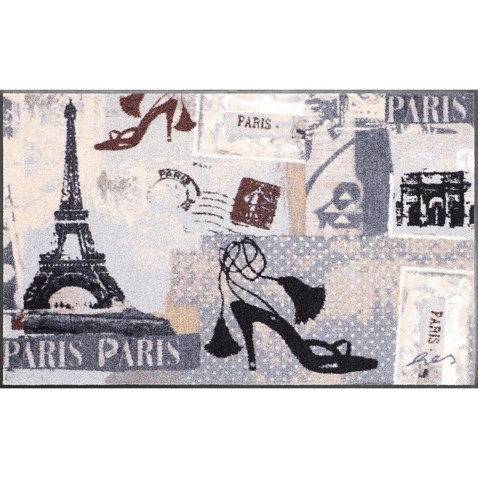 Läufer, Salonloewe, »Bistro Paris«, Waschbar, In- und Outdoor mit rutschhemmender Beschichtung