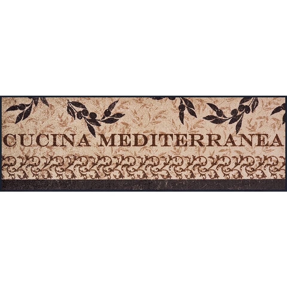 Läufer, wash+dry by Kleen-Tex, In- und Outdoor, »Cucina Mediterranea«, waschbar