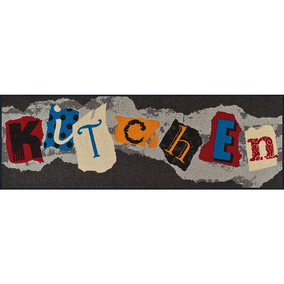L�ufer, wash+dry by Kleen-Tex, In- und Outdoor, �Funky Kitchen�, waschbar