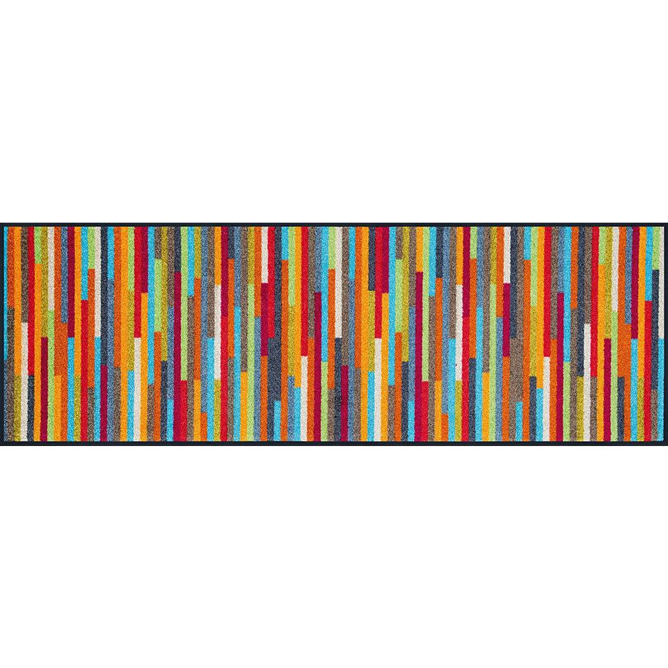 L�ufer, wash+dry by Kleen-Tex, In- und Outdoor, �Mikado Stripes�, waschbar