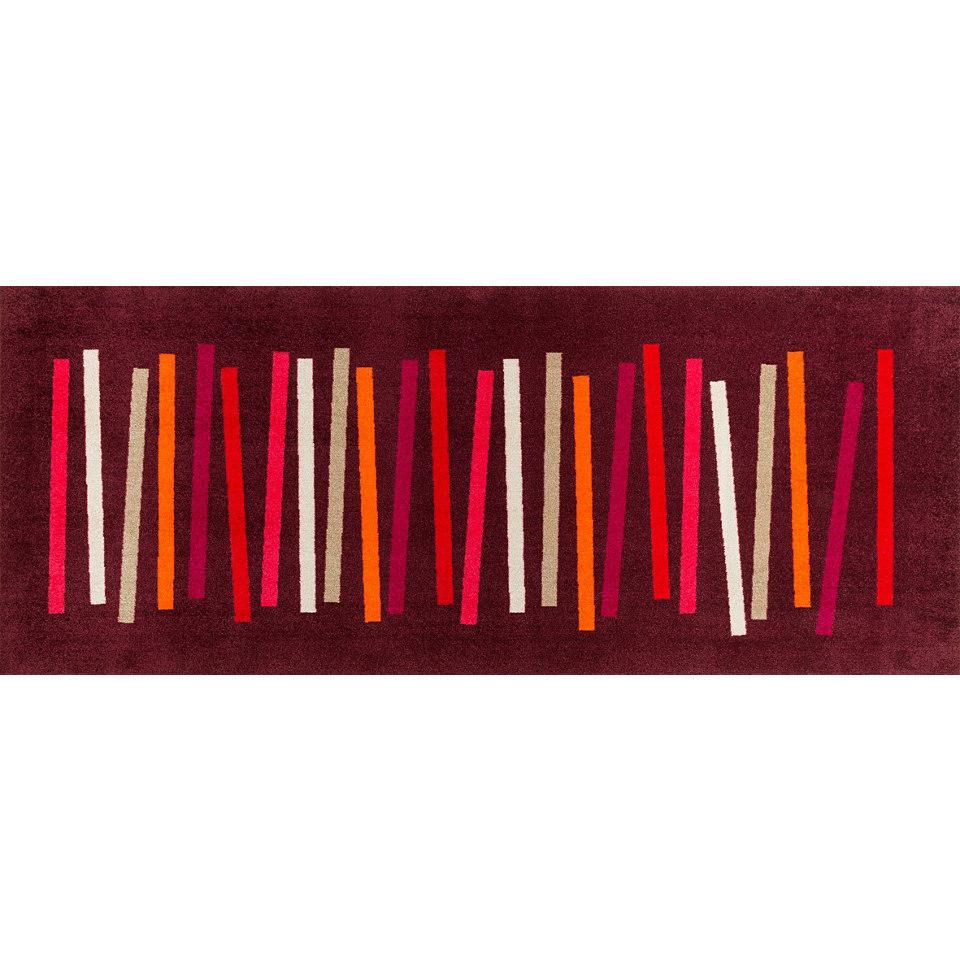 Läufer, wash+dry by Kleen-Tex, In- und Outdoor, »Mixed Stripes«, waschbar
