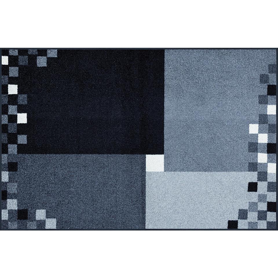 L�ufer, wash+dry by Kleen-Tex, In- und Outdoor, �Mosaico grau�, waschbar