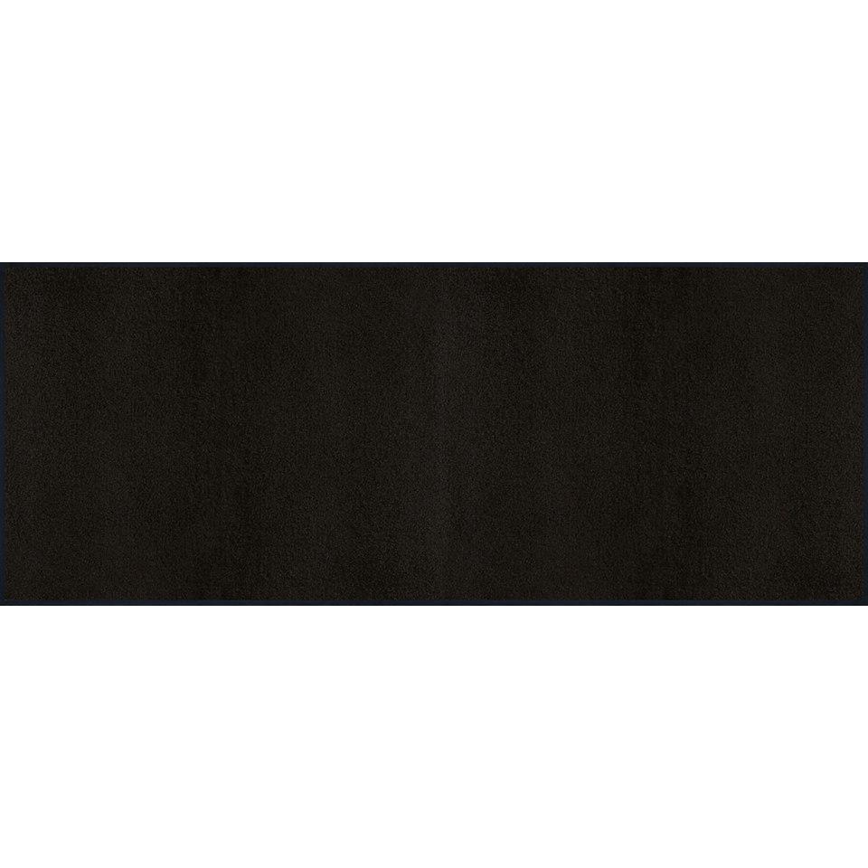 Läufer, wash+dry by Kleen-Tex, »Raven Black«, Waschbar, In- und Outdoor