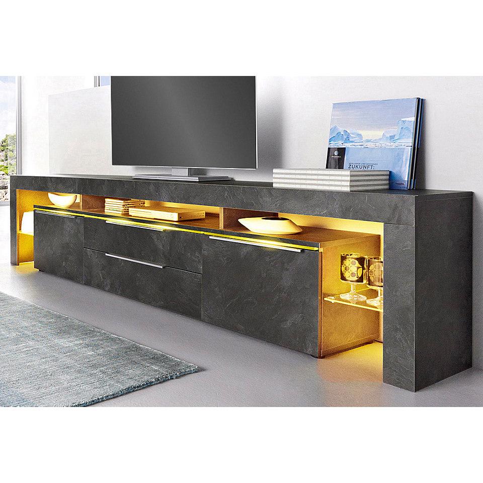 Lowboard, Breite 220 cm