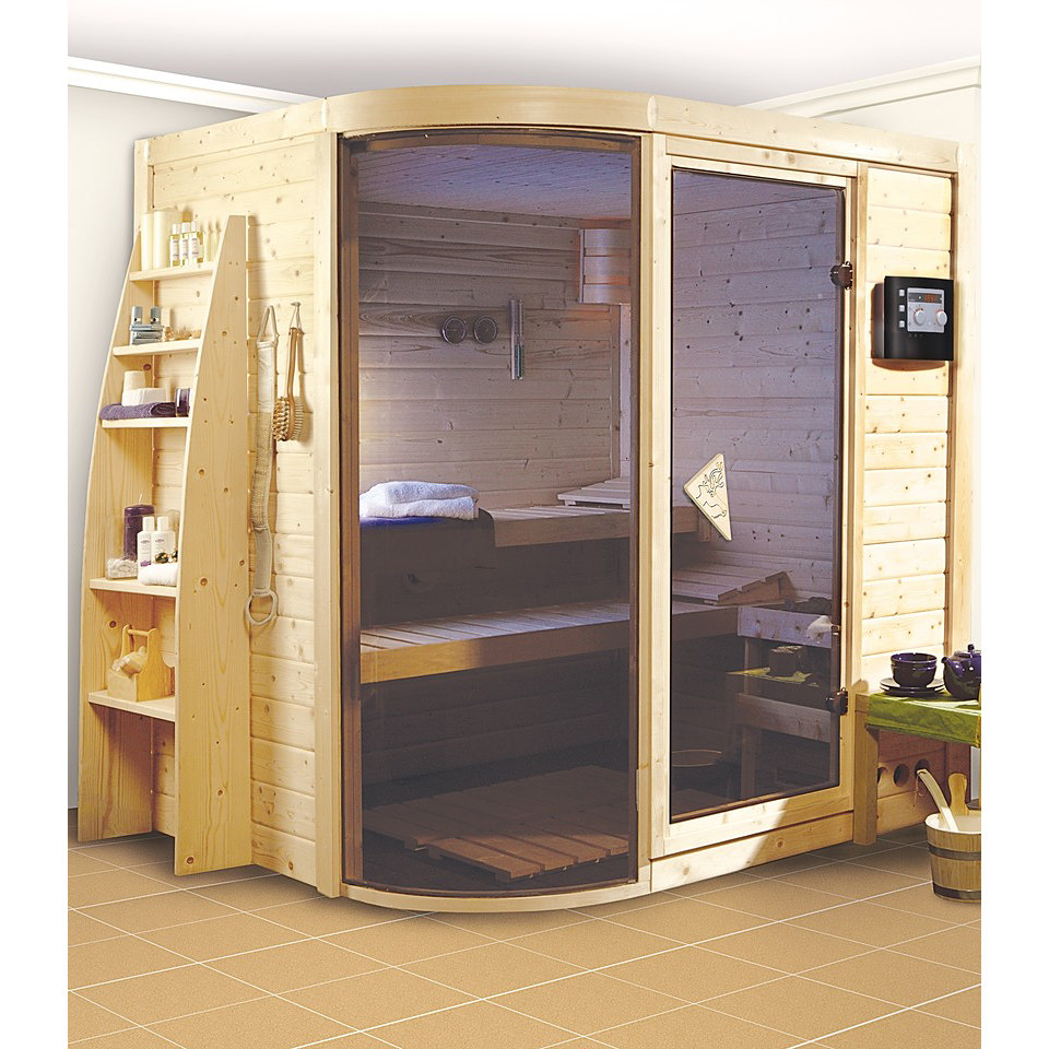 Massivholzsauna �Rikke 1 (40 mm)�