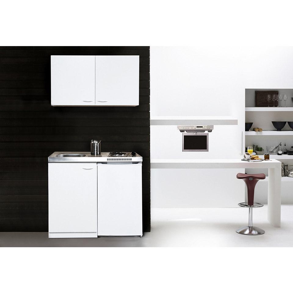 Miniküche mit Duo-Kochplattenfeld, Breite 100 cm