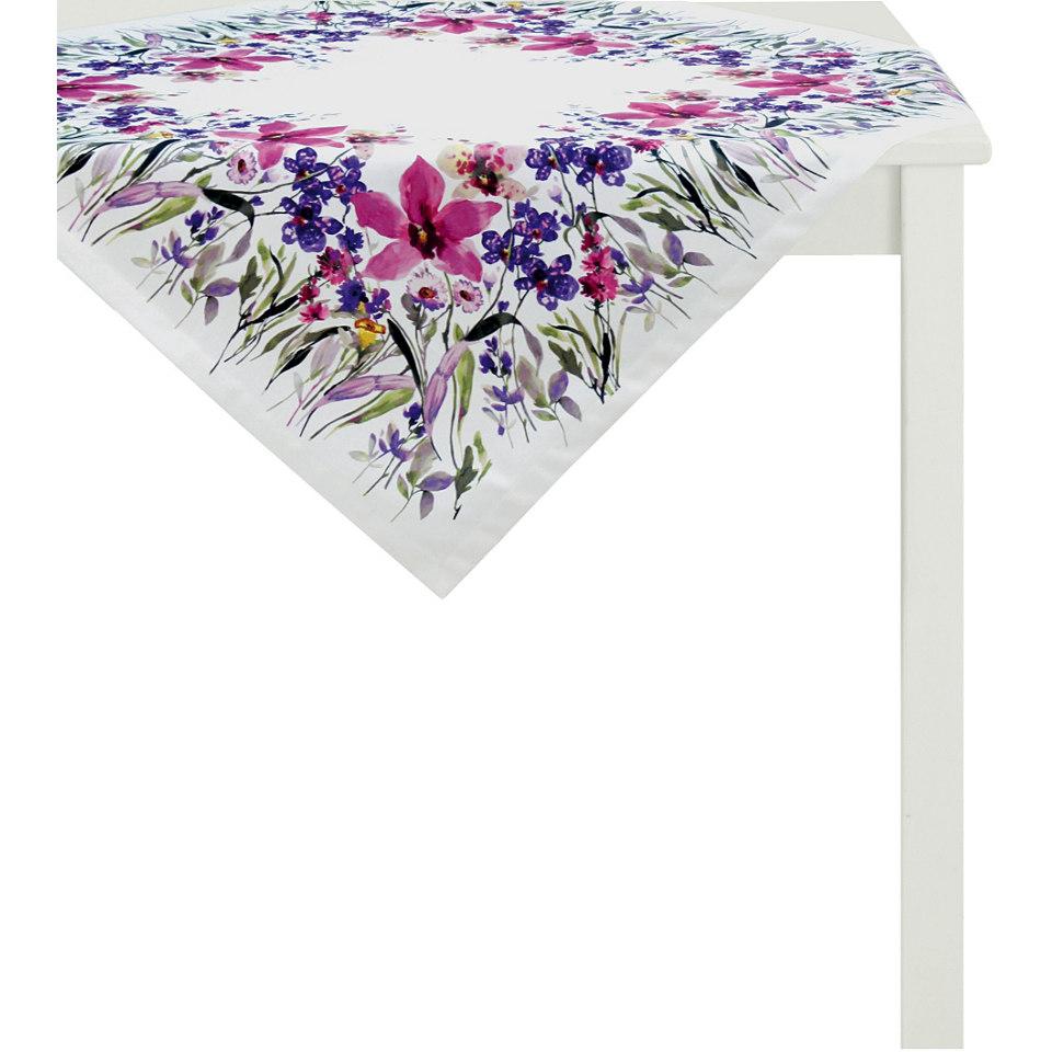 Mitteldecke, Apelt, �4060- Digitaldruck Blumenwiese�