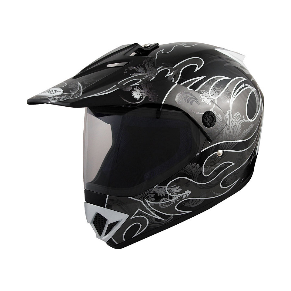 Motorradhelm »Römer MX«