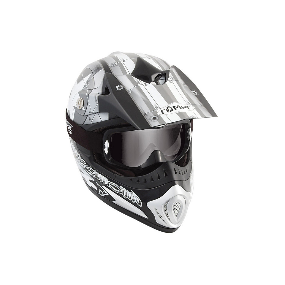 Motorradhelm »Römer Starcross«
