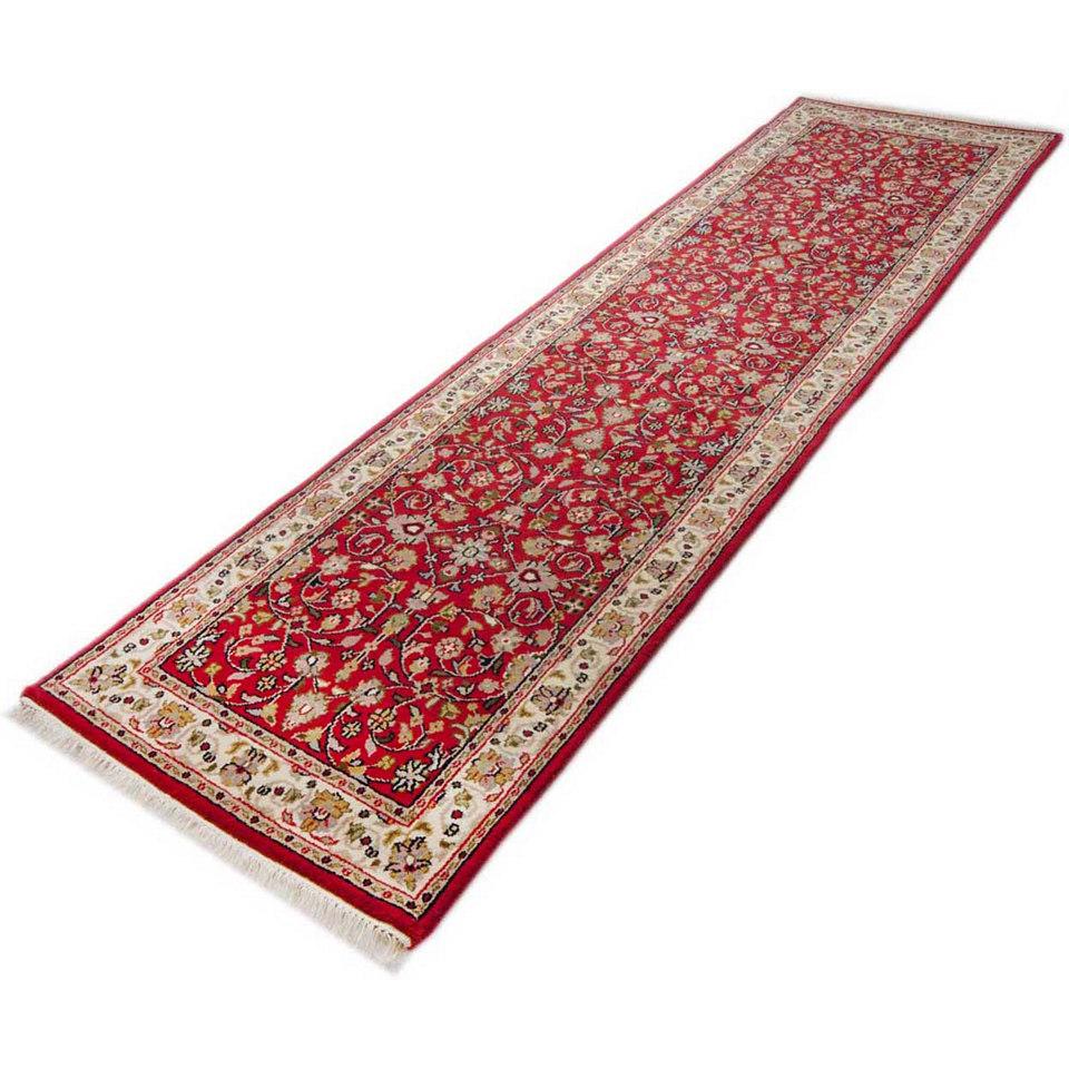 Orient-L�ufer, Parwis, �Mohammadi T�briz�, 155 000 Knoten/m�, handgekn�pft, reine Schurwolle