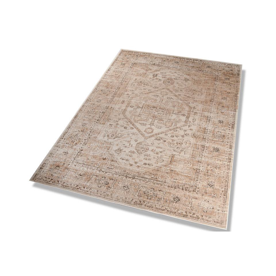 Orient-Teppich, Dekowe, »Anyang«, Melange-Effekt, gewebt