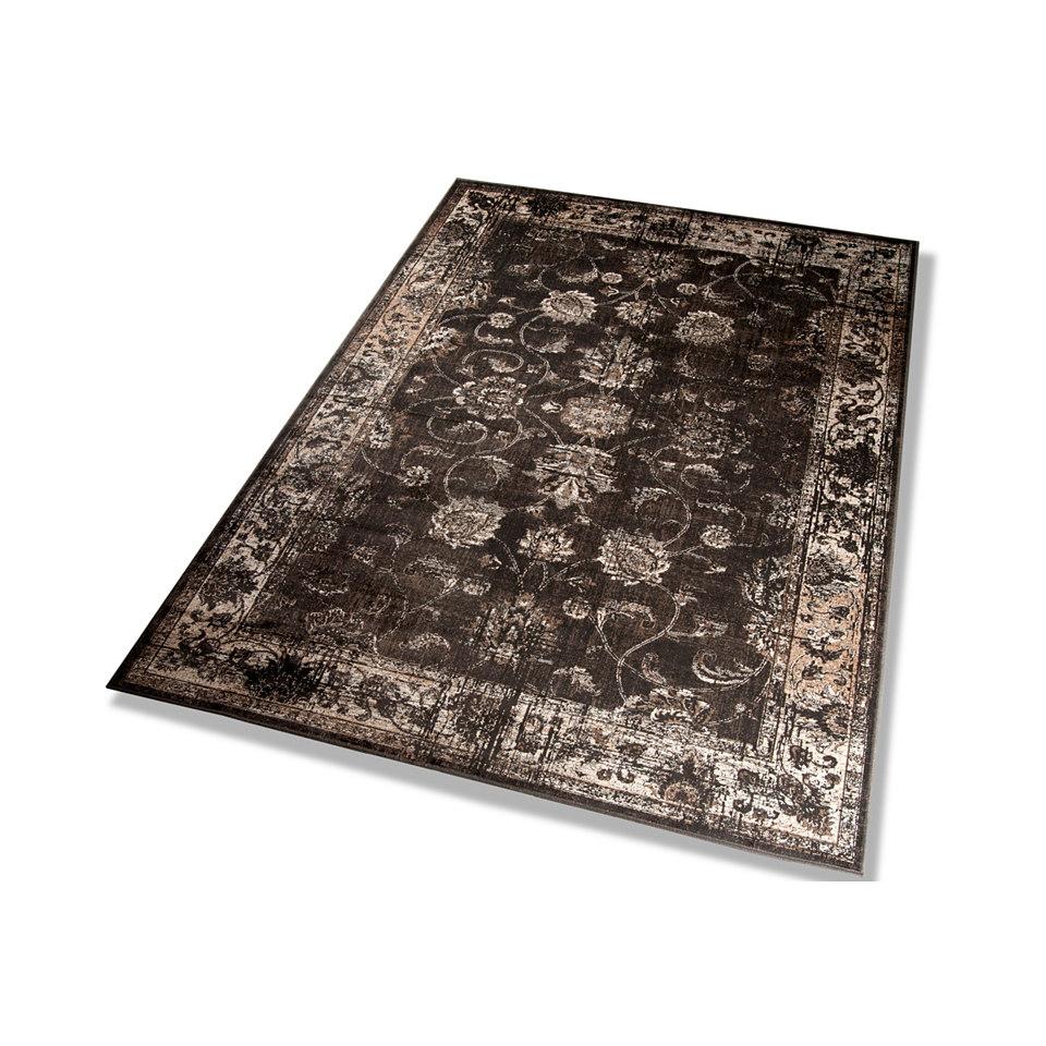 Orient-Teppich, Dekowe, »Baoding«, Melange-Effekt, gewebt