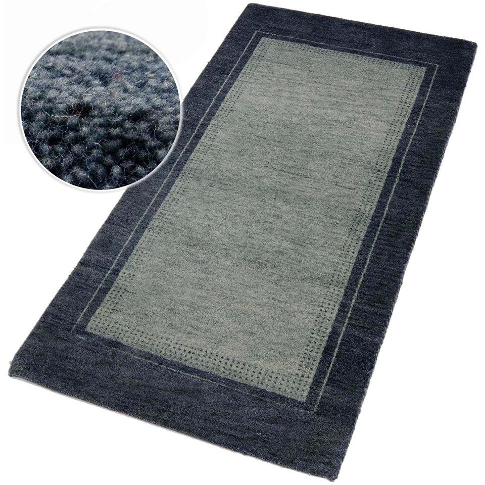 Orient-Teppich, Parwis, �Gabbeh Pali�, 4,5 kg/m�, 91 800 Knotenhand/m�, handgekn�pft, reine Schurwolle