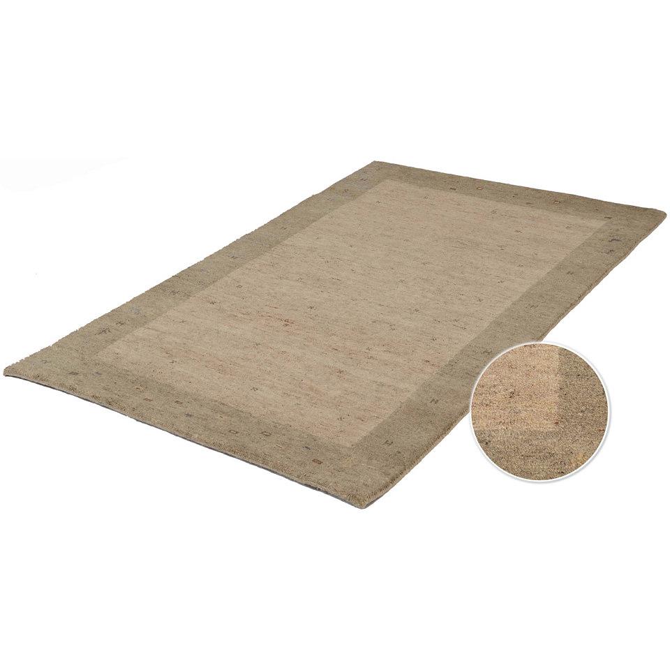 Orient-Teppich, Parwis, »Gabbeh Sike«, 53 500 Knoten/m², handgeknüpft, reine Schurwolle
