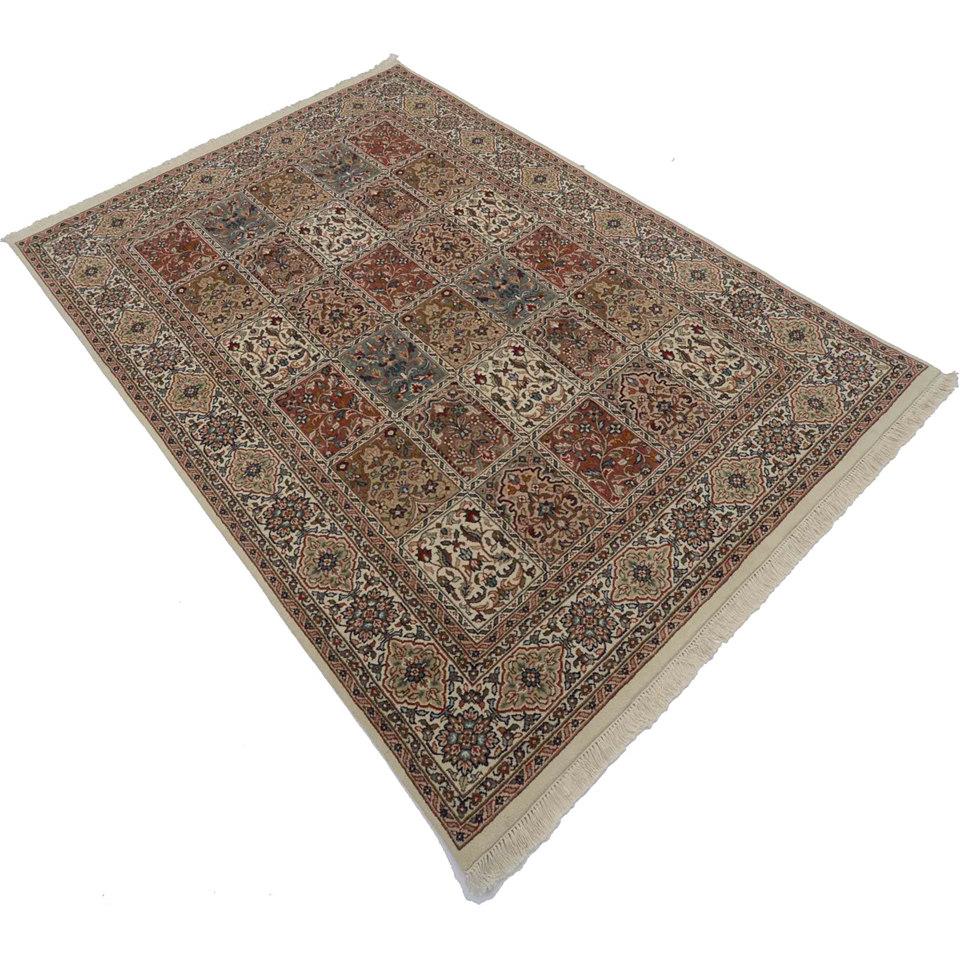 Orient-Teppich, Parwis, »Gohm Palast«, 190 000 Knoten/m², handgeknüpft, reine Schurwolle