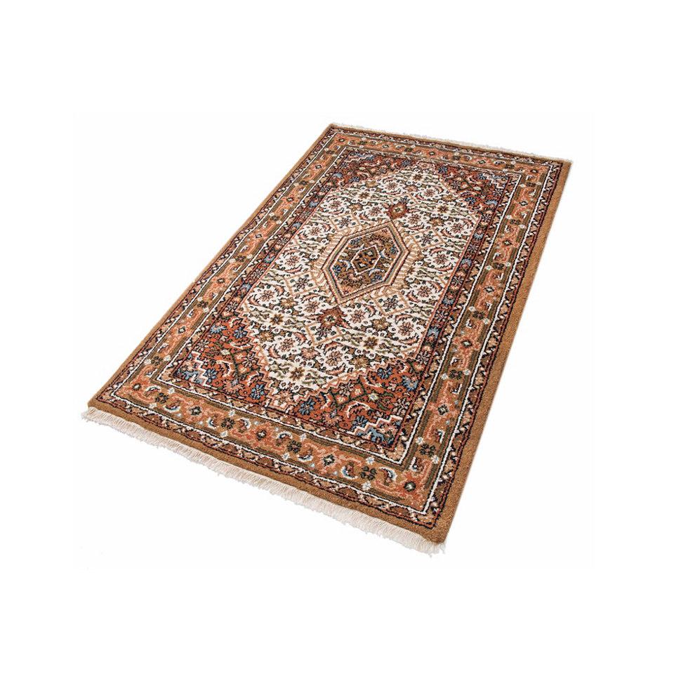 Orient-Teppich, Parwis, �Indo Bidjar Ghalip�, 4 kg/m�, 75.000 Knoten/m�, handgekn�pft, reine Wo