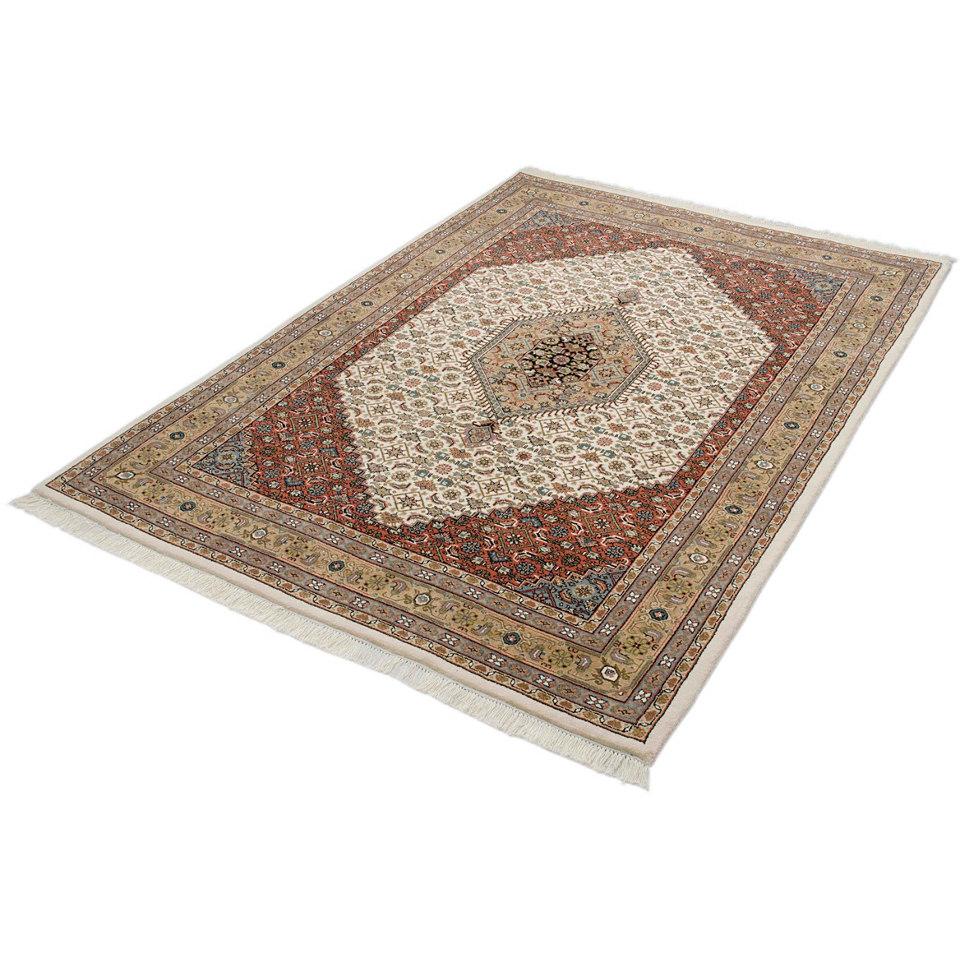 Orient-Teppich, Parwis, »Indo Royal Bidjar Exclusive«, 155 000 Knoten/m², handgeknüpft