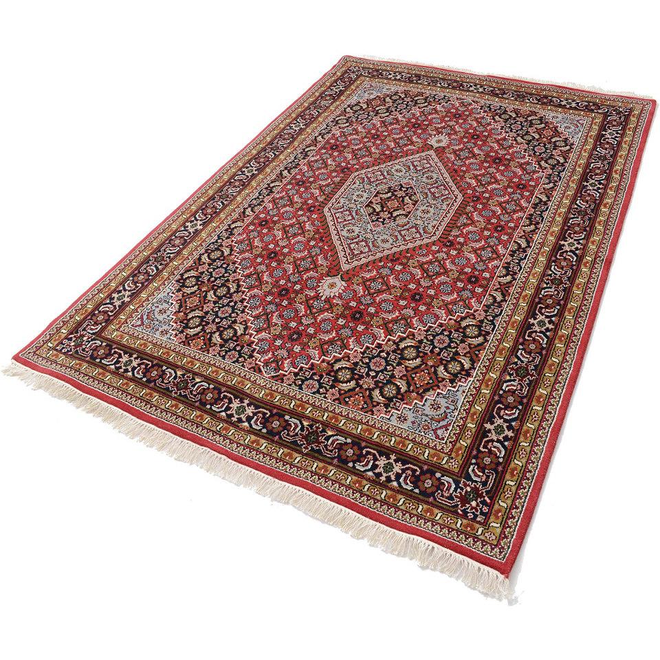 Orient-Teppich, Parwis, »Mohammadi Bidjar«, 139 000 Knoten/m², handgeknüpft, reine Schurwolle