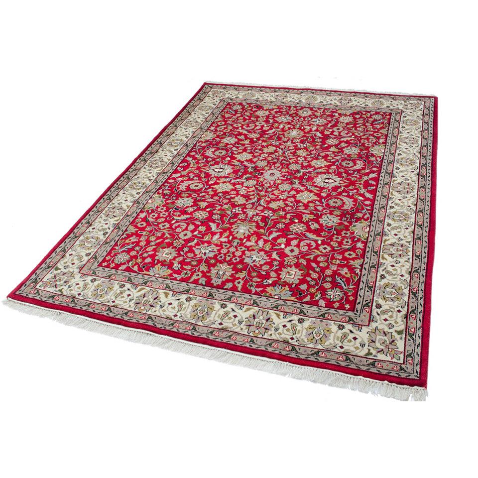 Orient-Teppich, Parwis, »Mohammadi Täbriz«, 155 000 Knoten/m², handgeknüpft, reine Schurwolle