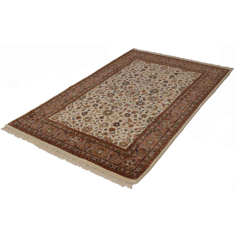 Orient-Teppich, Parwis, �Mohammadi T�briz�, 155 000 Knoten/m�, handgekn�pft, reine Schurwolle