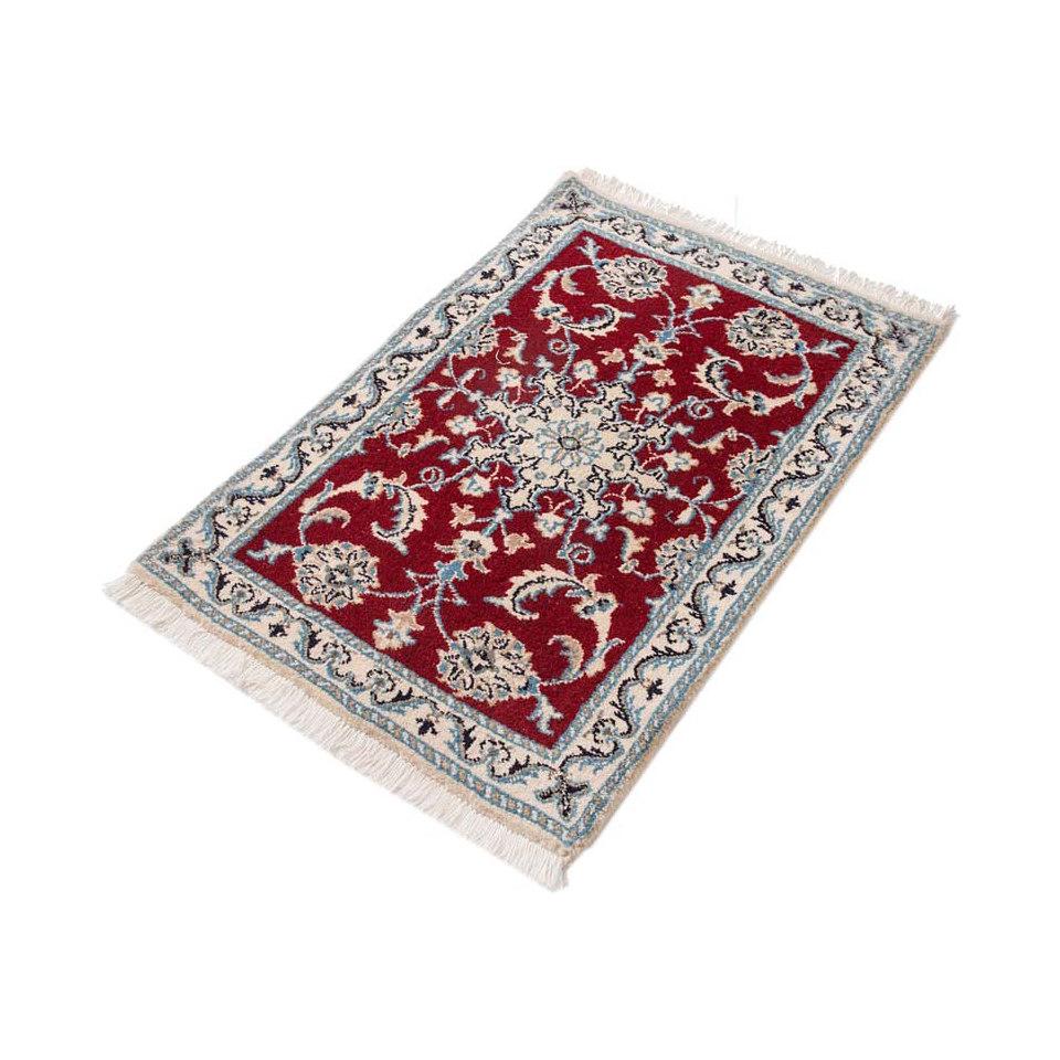 Orient-Teppich, Parwis, »Nain Khorasan1«, 180 000 Knoten/m², handgeknüpft