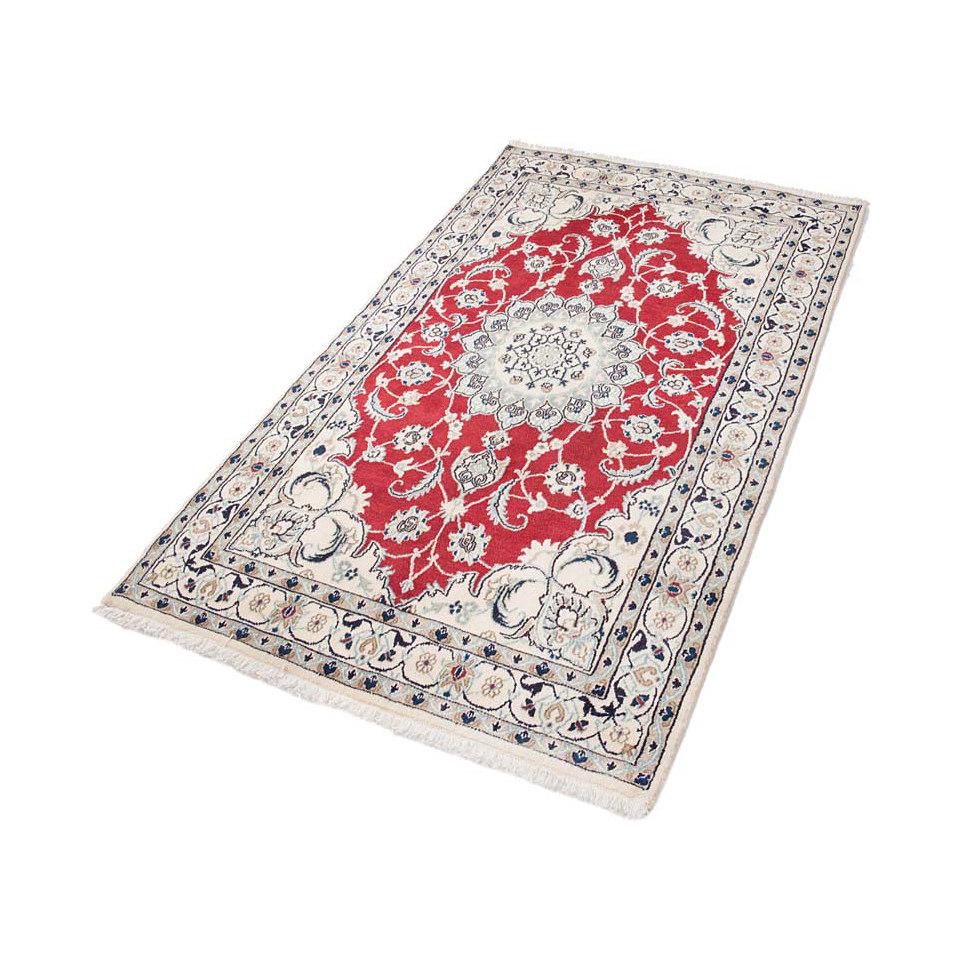 Orient-Teppich, Parwis, �Nain Khorasan2�, 180 000 Knoten/m�, handgekn�pft