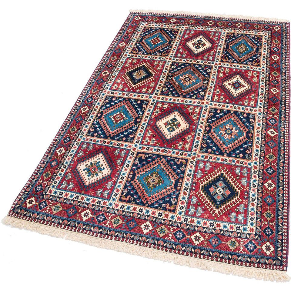 Orient-Teppich, Parwis, �Persicher Yalameh Boxes�, 200 000 Knoten/m�, handgekn�pft, reine Schurwolle,