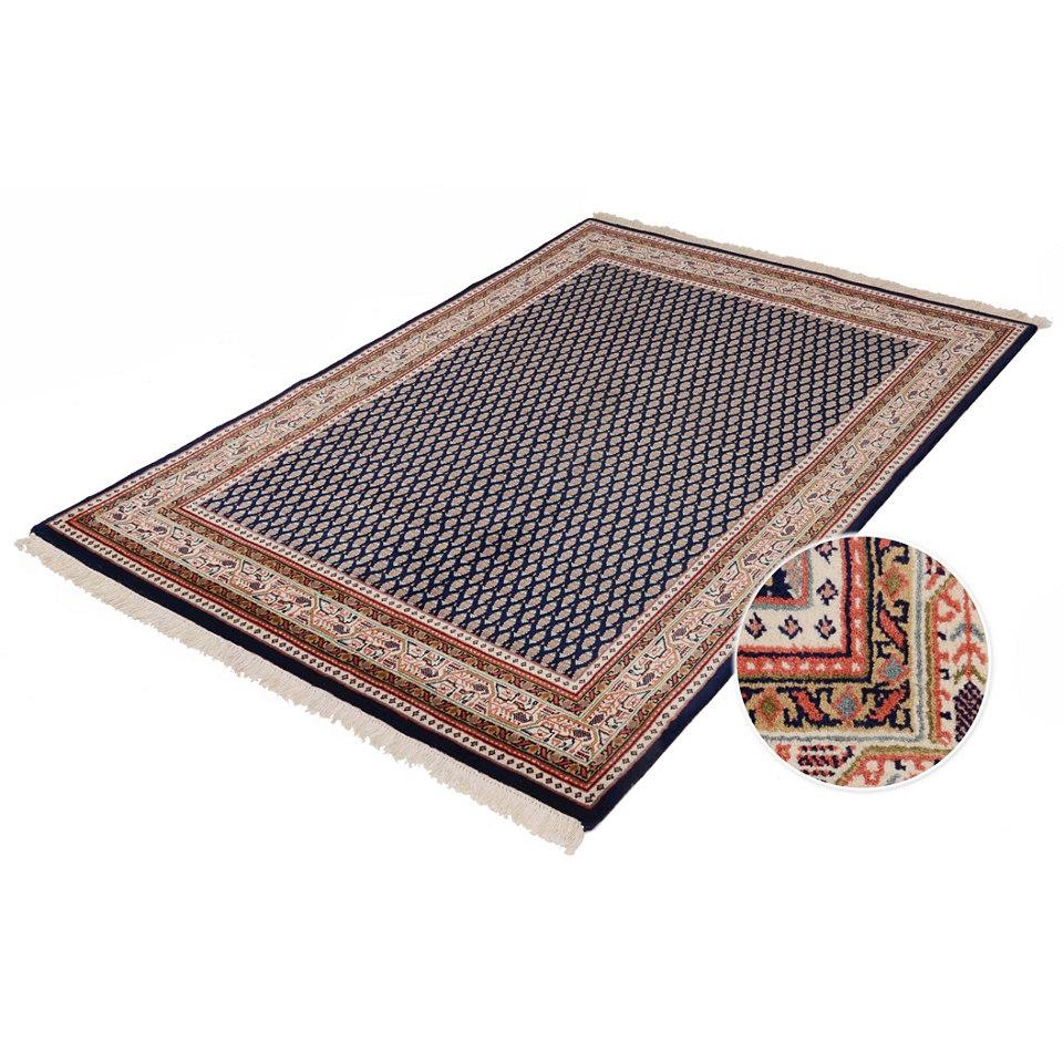 Orient-Teppich, Parwis, �Sarough Mir�, 140 000 Knoten/m�, handgekn�pft, reine Schurwolle