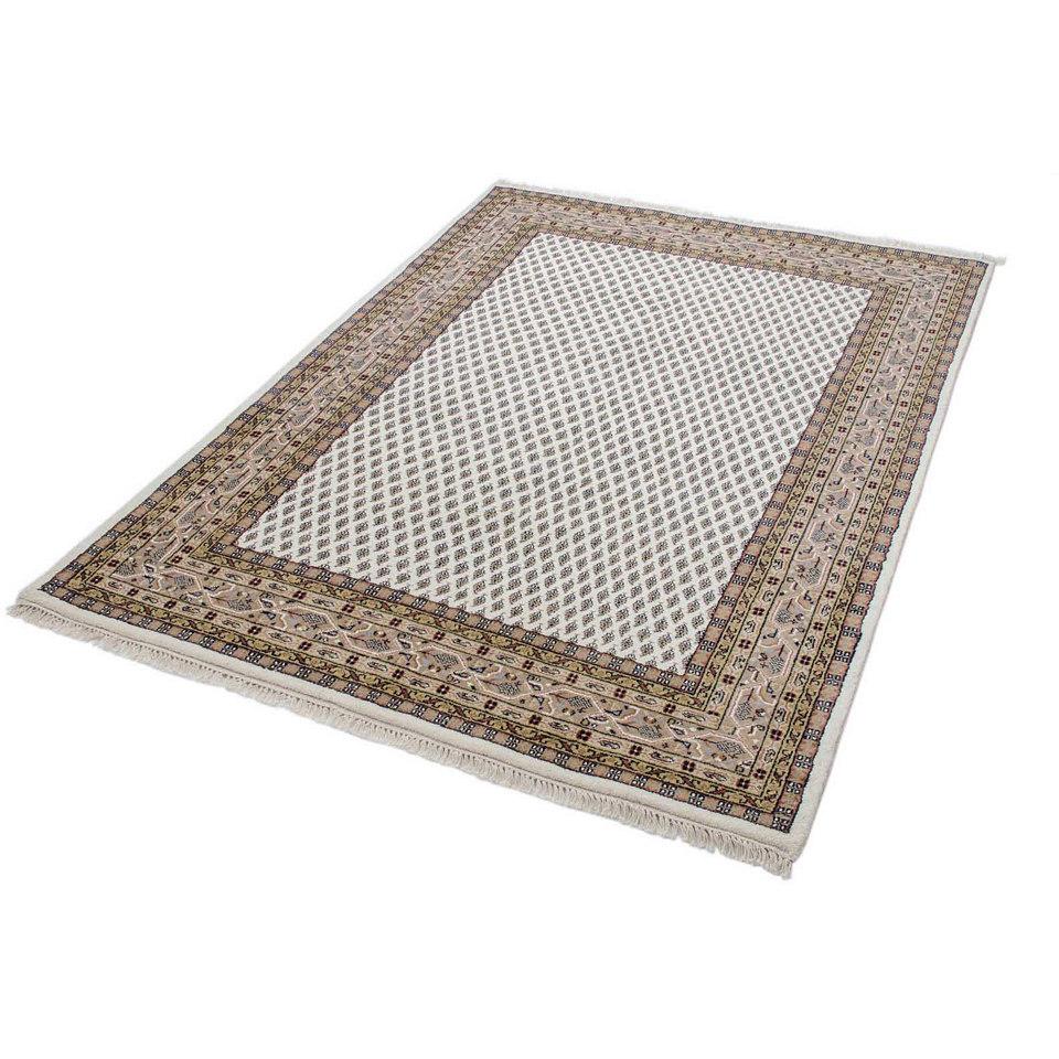 Orient-Teppich, Parwis, »Sarough Mir«, Handgeknüpft, Wolle, 140 000 Knoten/m² , 3 kg/m²