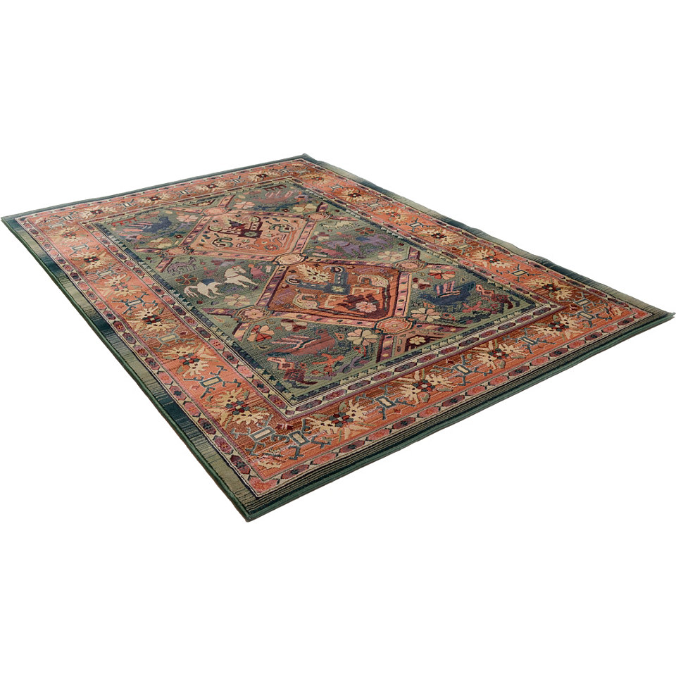 Orient-Teppich, Theko, �Leonie�, Melange-Effekt, gewebt