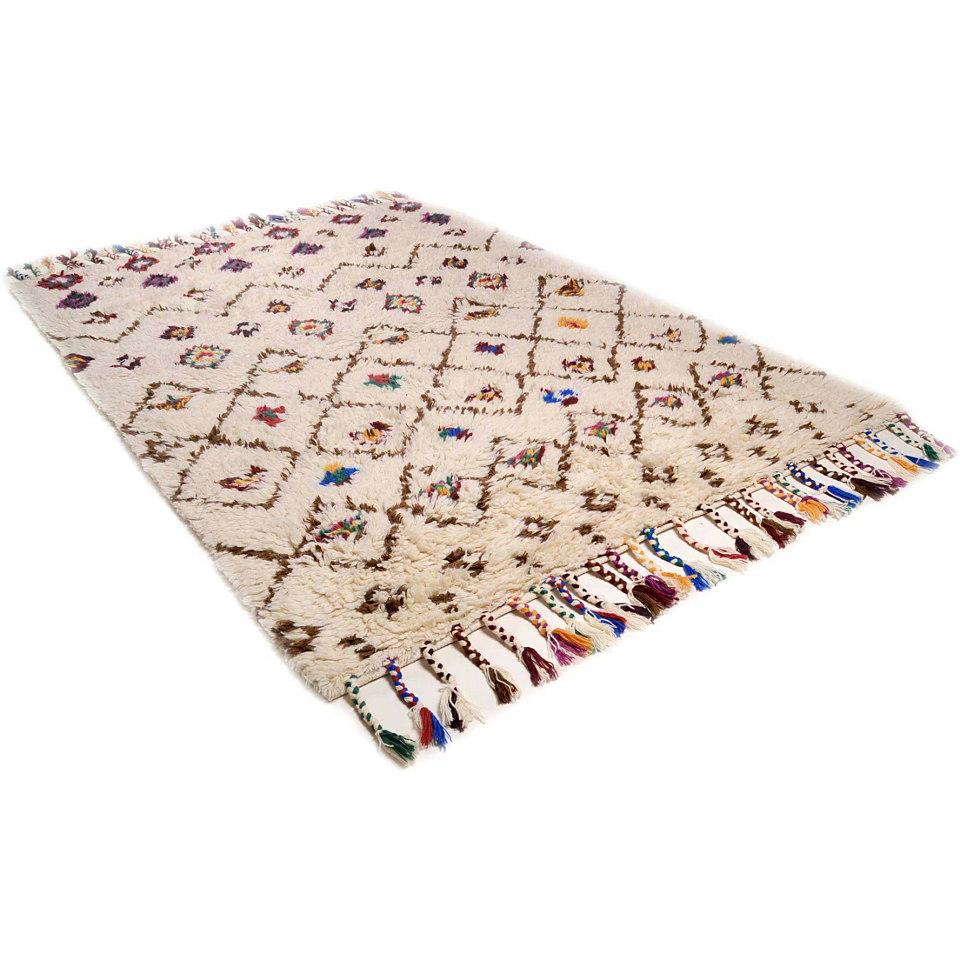 Orient-Teppich, Theko, �Nomadic 1�, handgewebt, reine Schurwolle