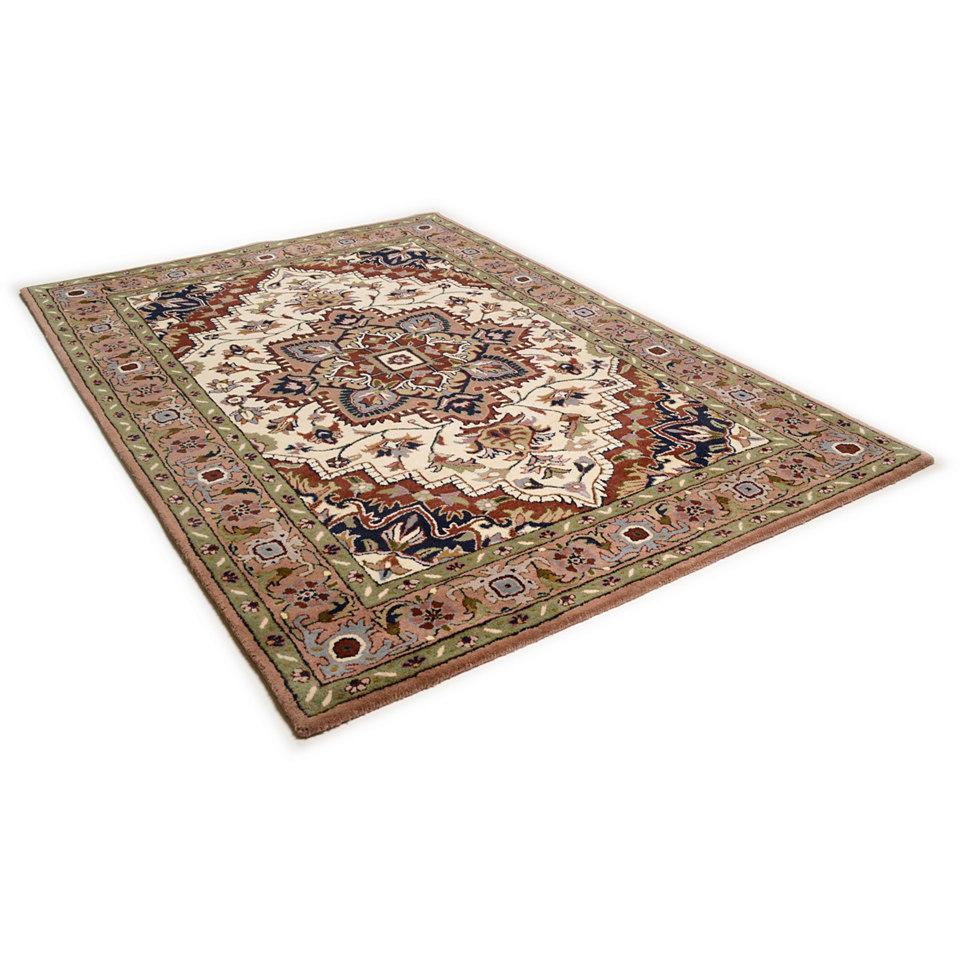 Orient-Teppich, Theko, »Royal Heriz«, 4kg/m², handgetuftet, reine Schurwolle