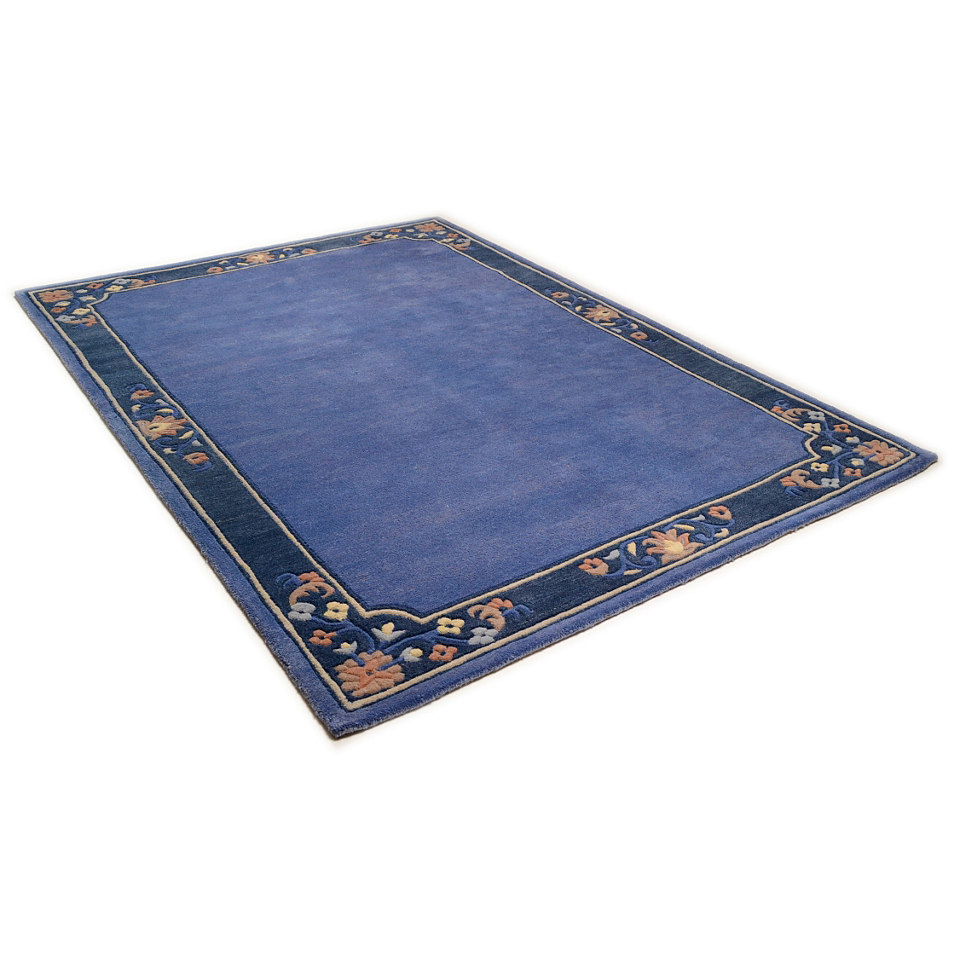 Orient-Teppich, Theko, »Suha Floral«, 4,5 kg/m², hangetuftet, reine Schurwolle