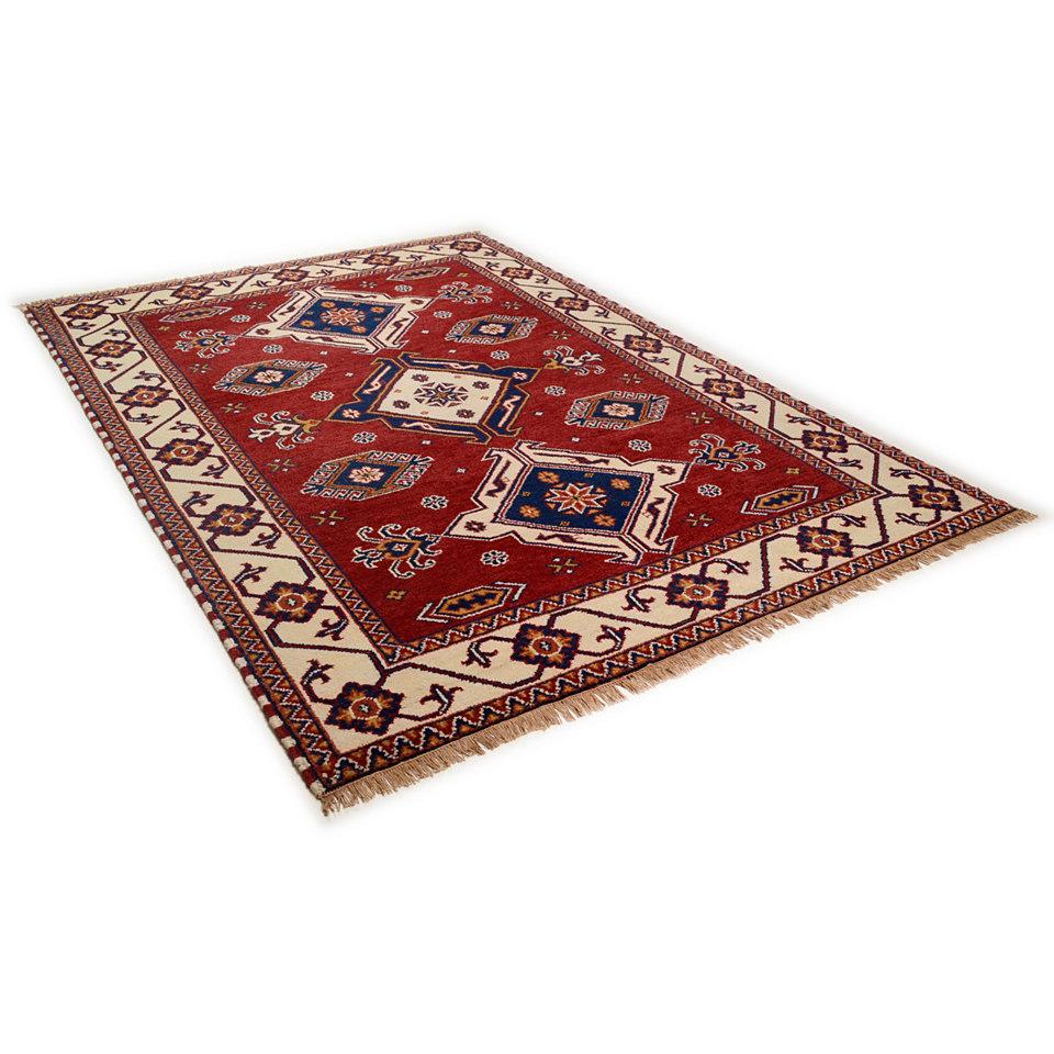 Orient-Teppich,Theko,»Kazak Imperial«,4 kg/m², 75 000 Knoten/m², handgeknüpft, reine Schurwolle