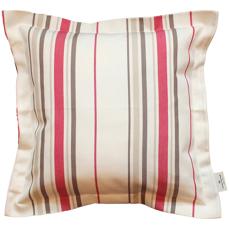 Outdoor Kissenh�lle mit Stehsaum 1St, Tom Tailor, �Stripes�