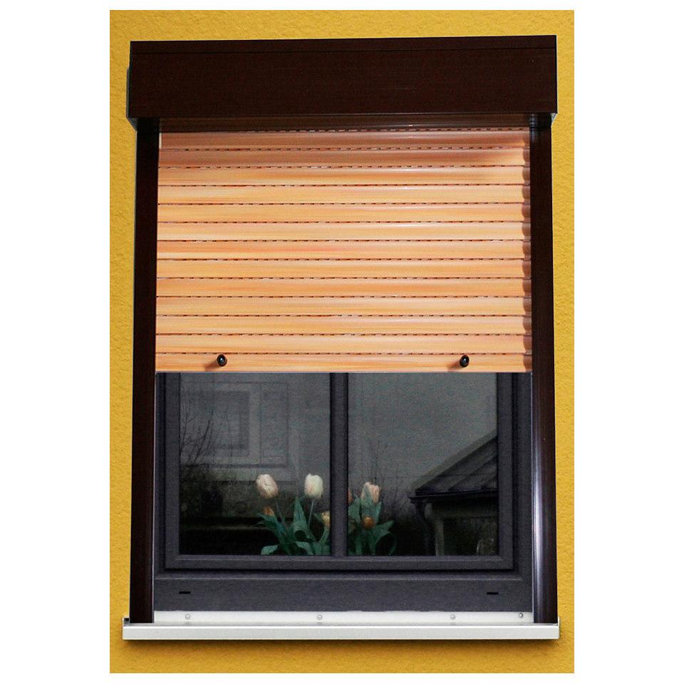 PVC-Rollladen, B/H 100/100 cm,Festma�