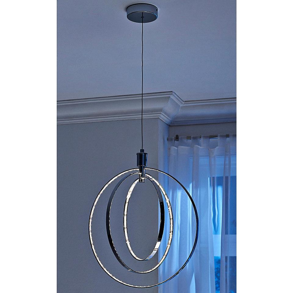 Pendelleuchte, Trio. Inkl. Leuchtmittel der EEK A. Die LED-Lampen können nicht ausgetauscht werden.