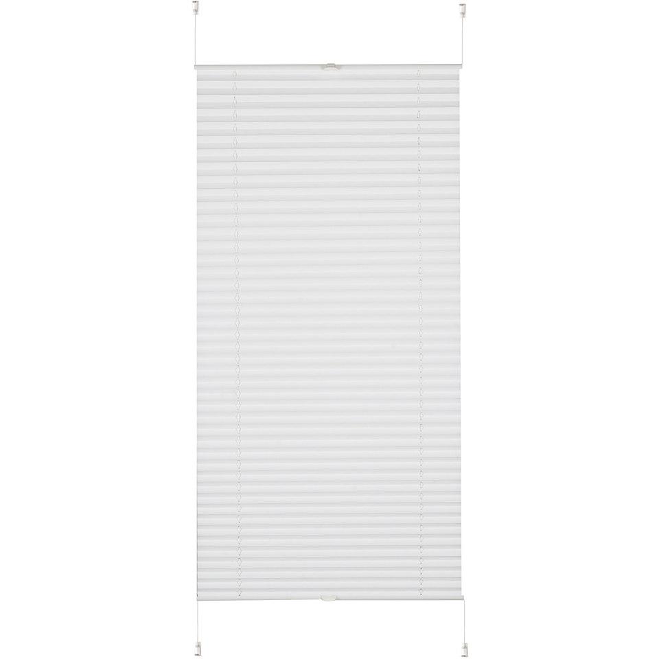 Plissee-Faltenstore, K-home, �Klemmfix Pisa� , im Festma�, ohne Bohren, Verdunkelung (1 Stck.)
