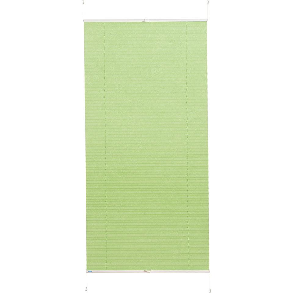 Plissee-Faltenstore im Festma�, K-home, �Klemmfix Pisa�, ohne Bohren; Lichtschutz