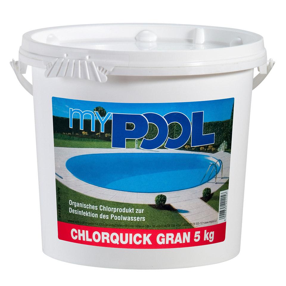 Poolpflegeprodukt �Chlorquick Gran�