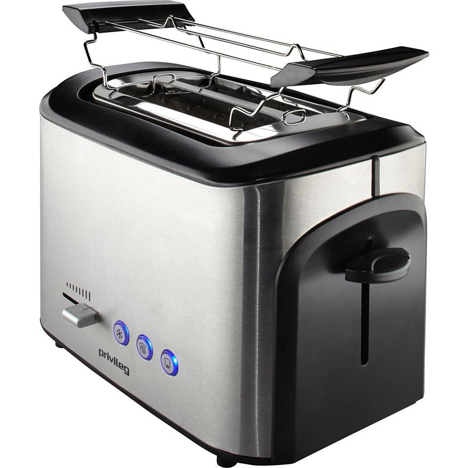 Privileg Toaster Edelstahl