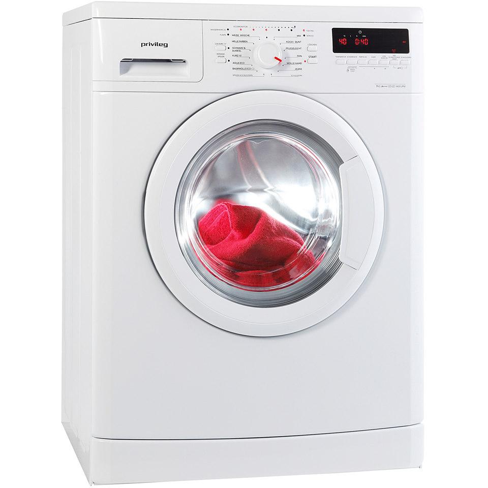 Privileg Waschmaschine PWF 5748, A+++, 7 kg, 1400 U/Min