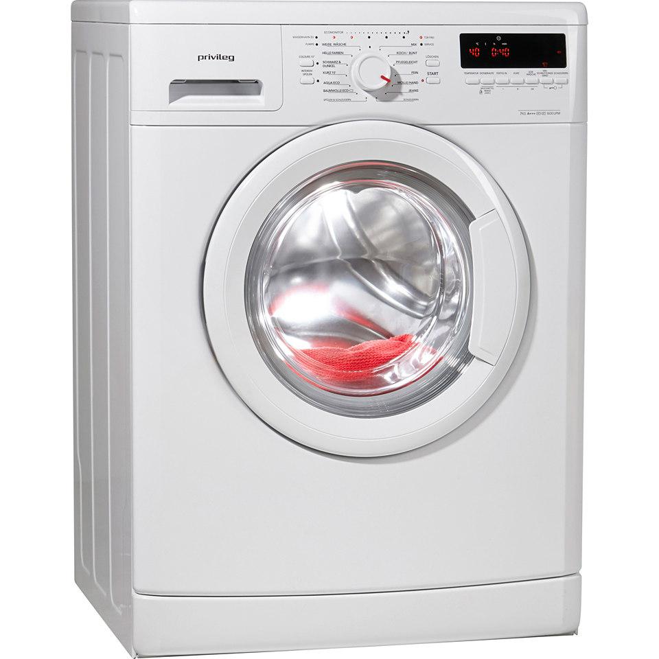 Privileg Waschmaschine PWF 5768, A+++, 7 kg, 1600 U/Min