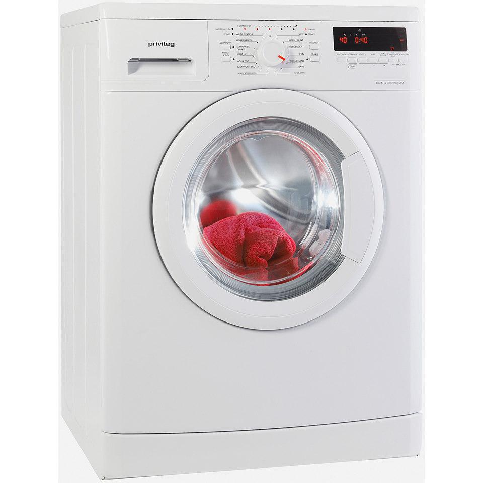 Privileg Waschmaschine PWF 5848, A+++, 8 kg, 1400 U/Min