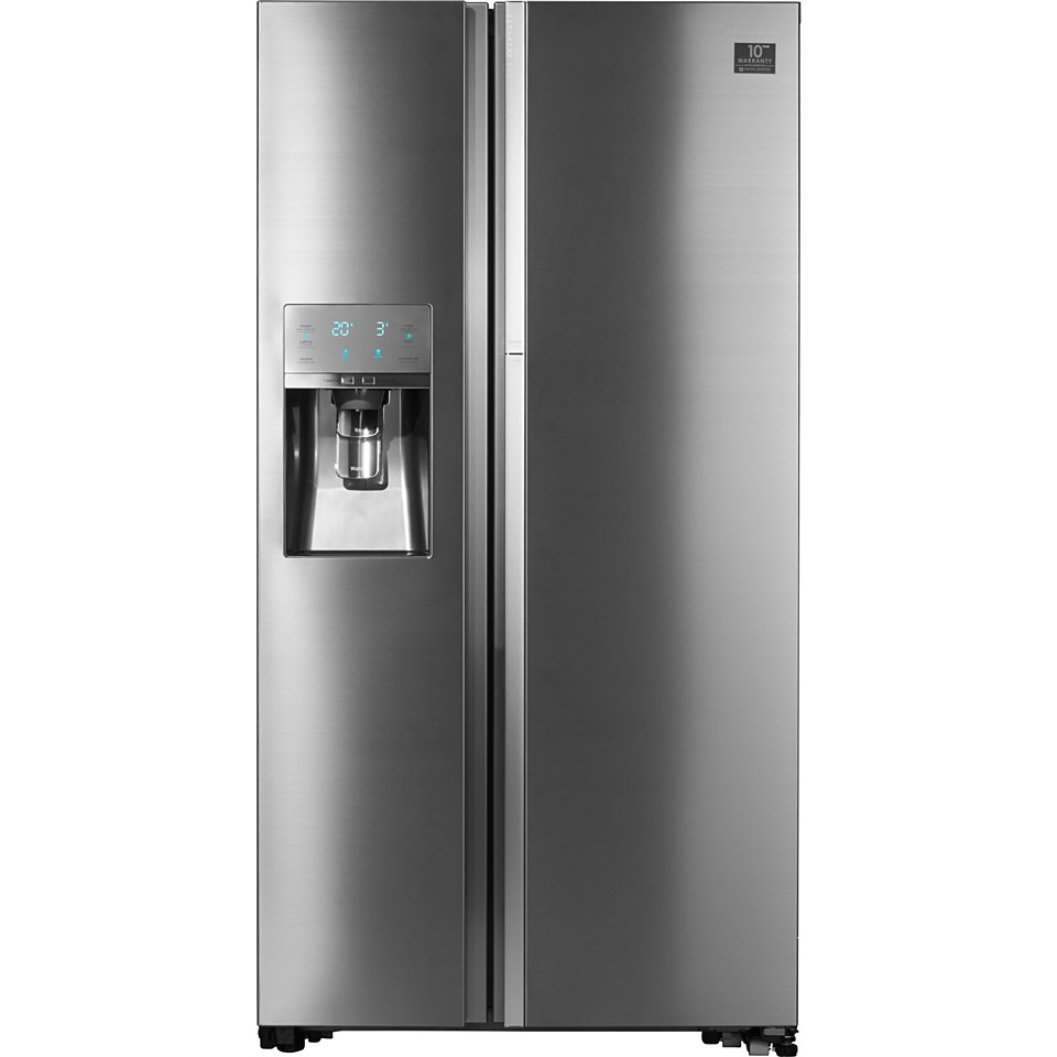 Samsung Side by Side / FoodShowCase RH57H90707F/EG, A++, 177,4 cm, No Frost