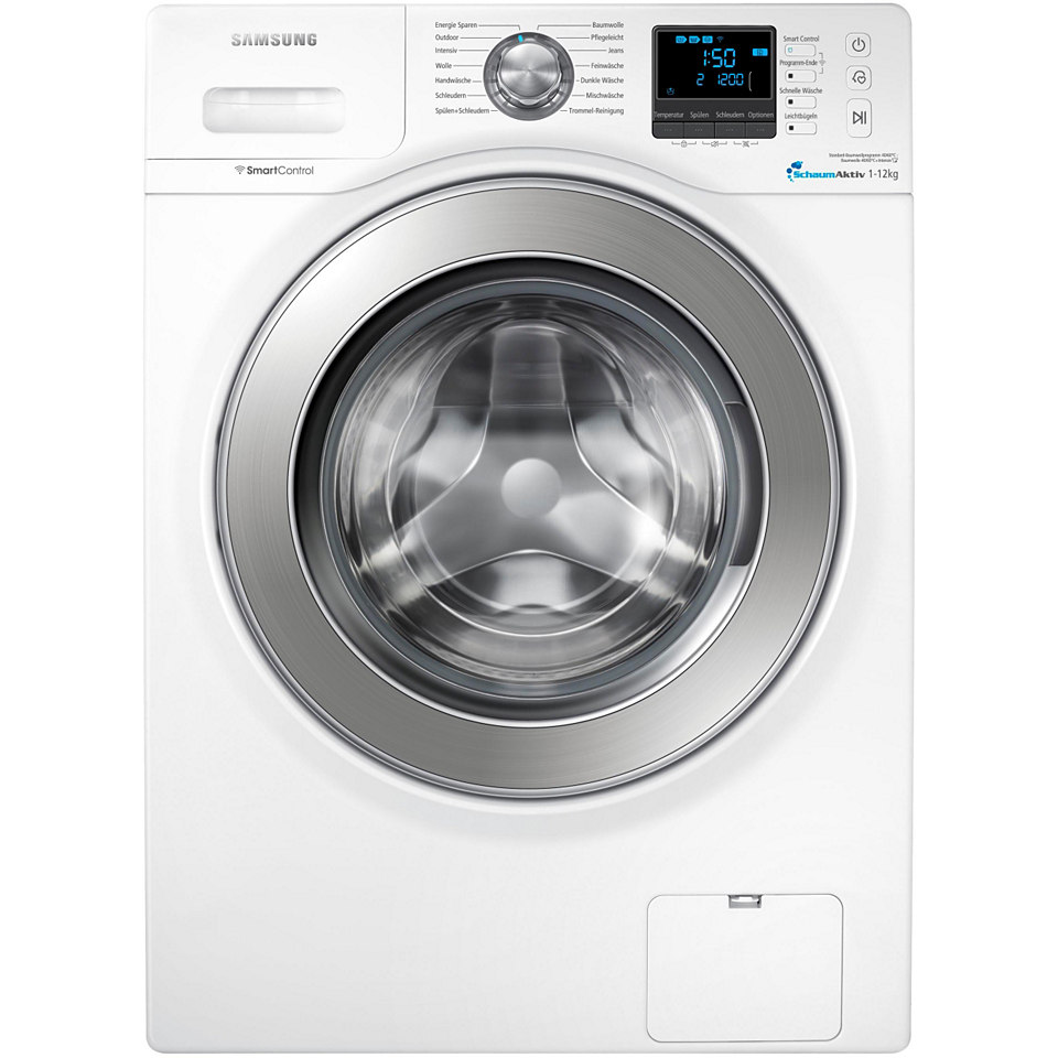 Samsung Waschmaschine WF12F9E6P4W, A+++, 12 kg, 1400 U/Min