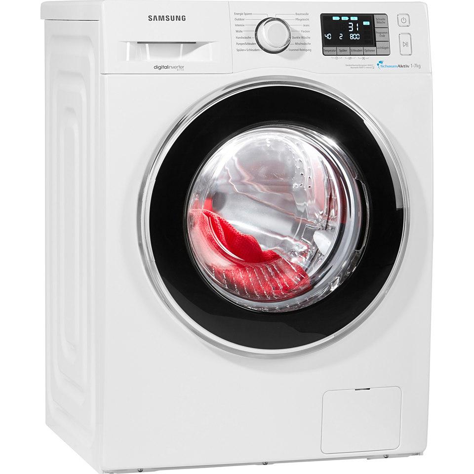 Samsung Waschmaschine WF70F5EBP4W/EG, A+++, 7 kg, 1400 U/Min